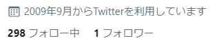 Twitterフォロー実験